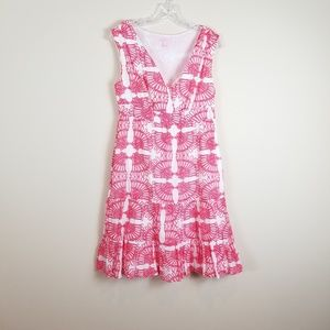 Lilly Pulitzer Skylar Island Coral Dress 6